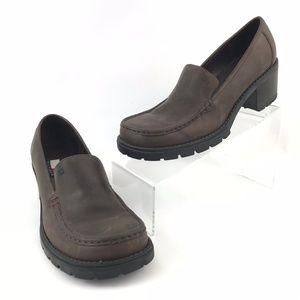 Vtg Tommy Hilfiger Women's Sz 8 Leather Mule Clogs